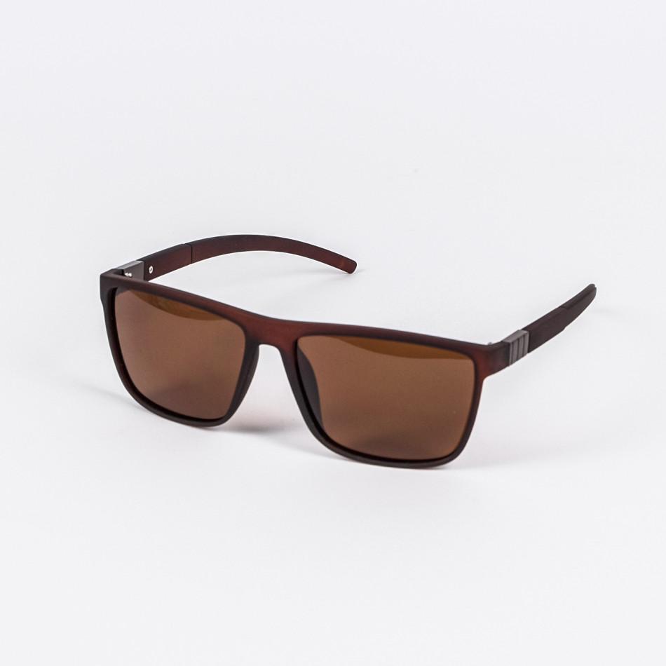 Basic кафяви слънчеви очила il200720-4