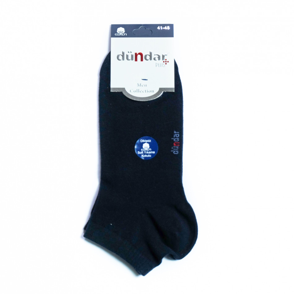 Мъжки тъмносини къси чорапи il040621-48