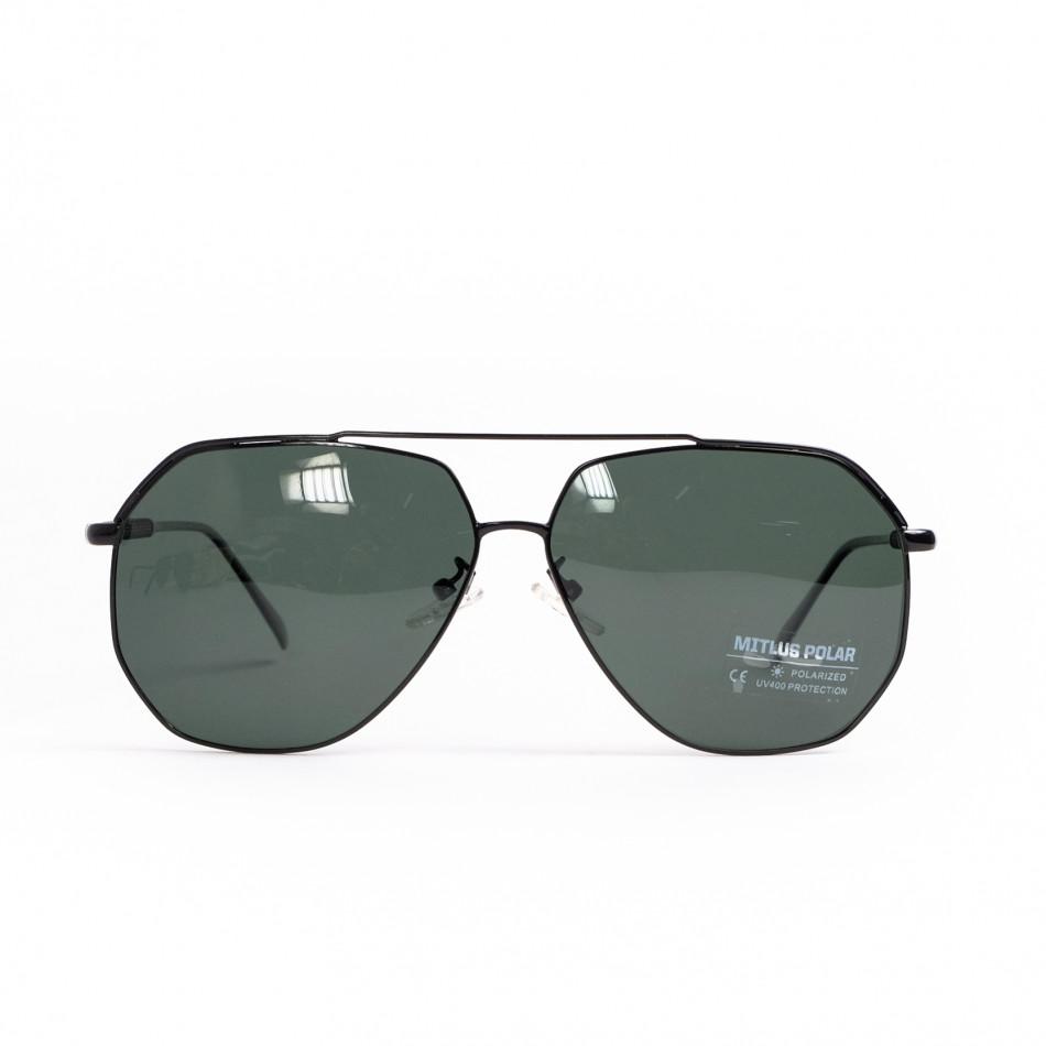 Пилотски слънчеви очила зелени стъкла il200521-20