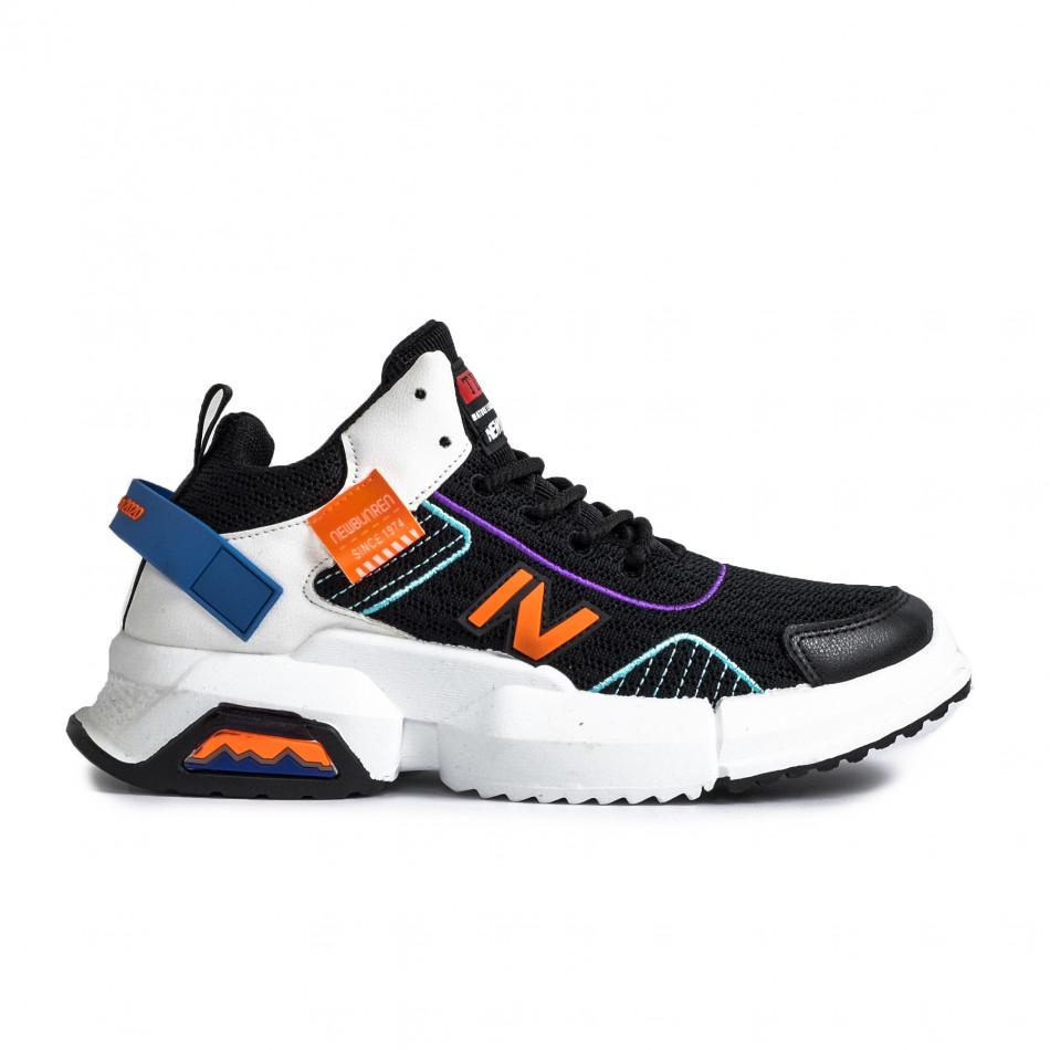 Комбинирани маратонки с цветни акценти gr270421-30