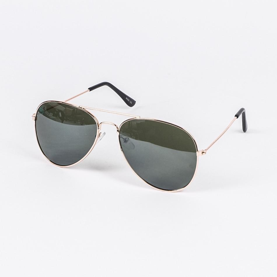 Пилотски слънчеви очила зелени стъкла il210720-3