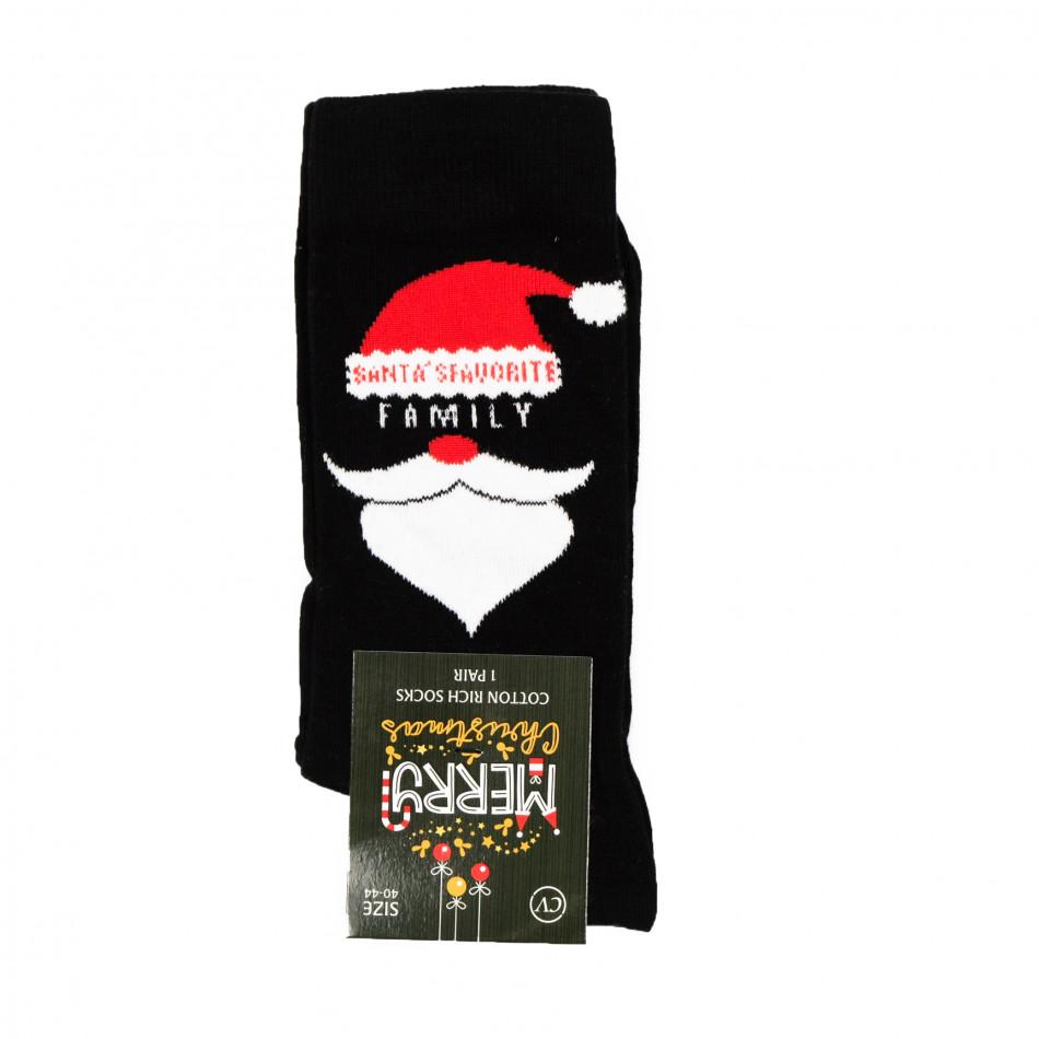 Ароматизирани коледни чорапи черни il161220-33