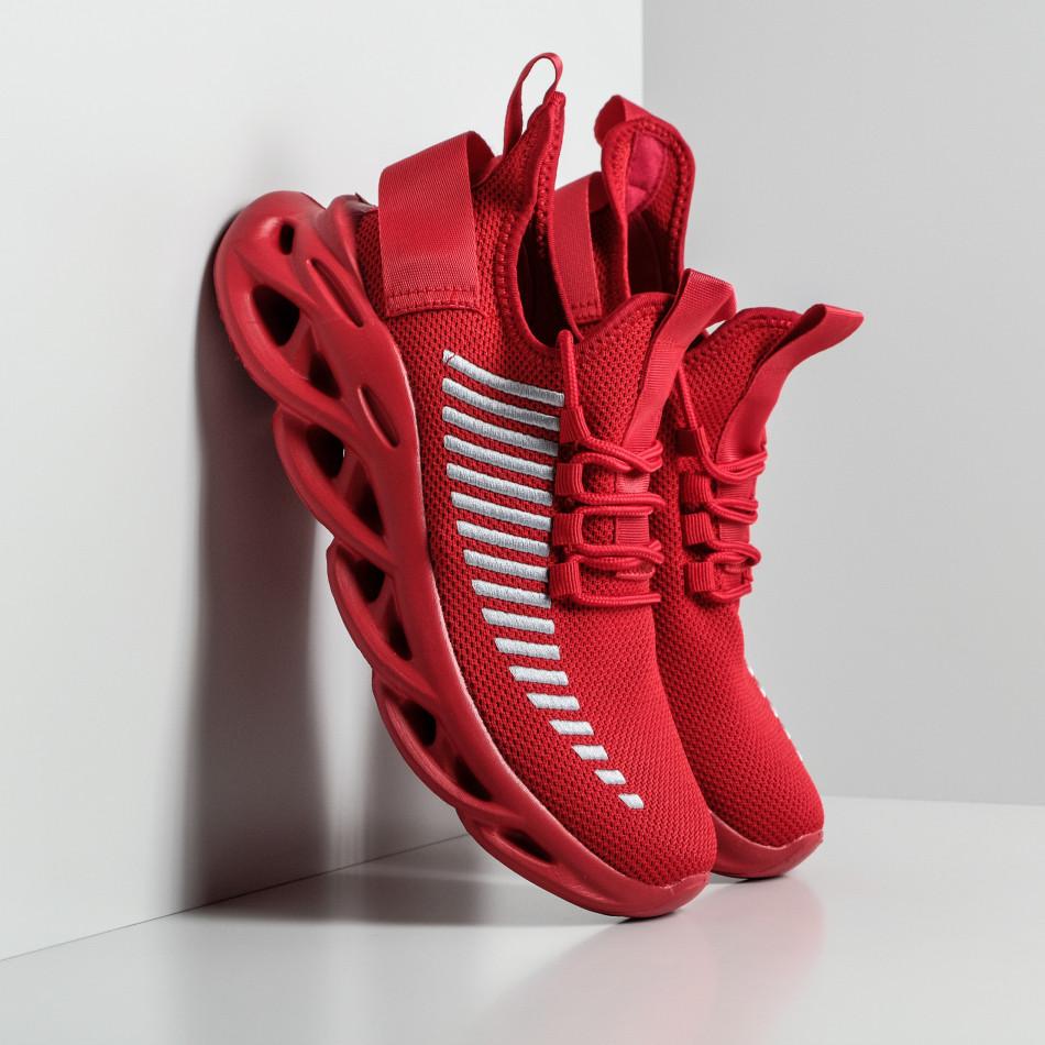 Мъжки маратонки Rogue в червено it270320-21