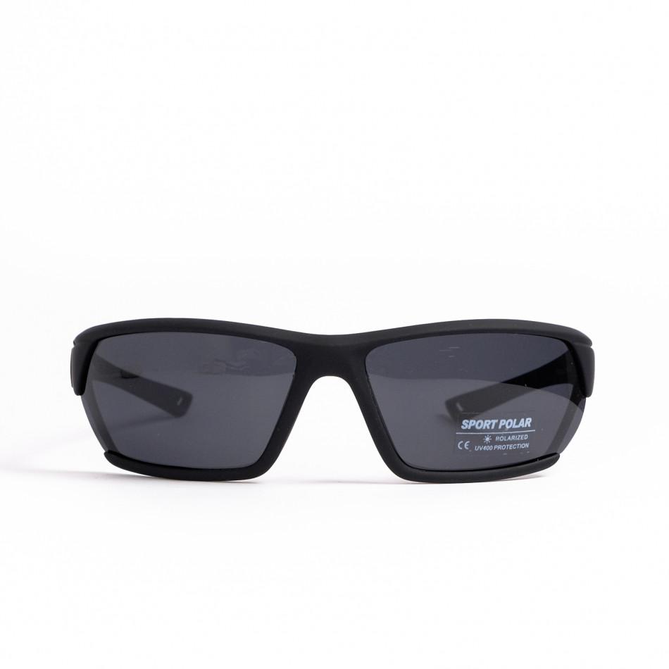 Черни спортни очила с детайл il200521-6