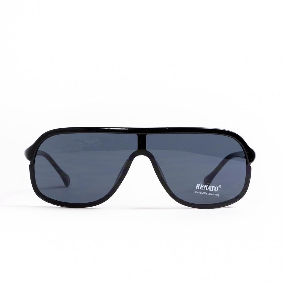 Очила овални тип маска в черно il200521-12