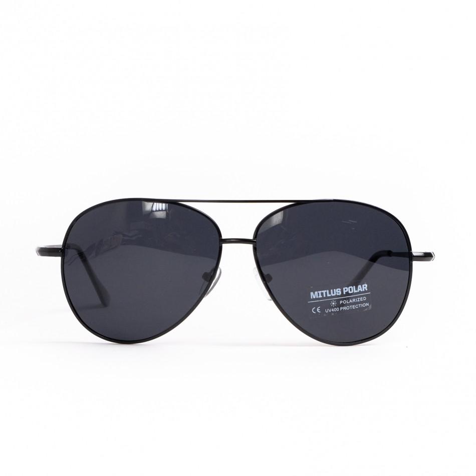 Basic пилотски слънчеви очила в черно il200521-21