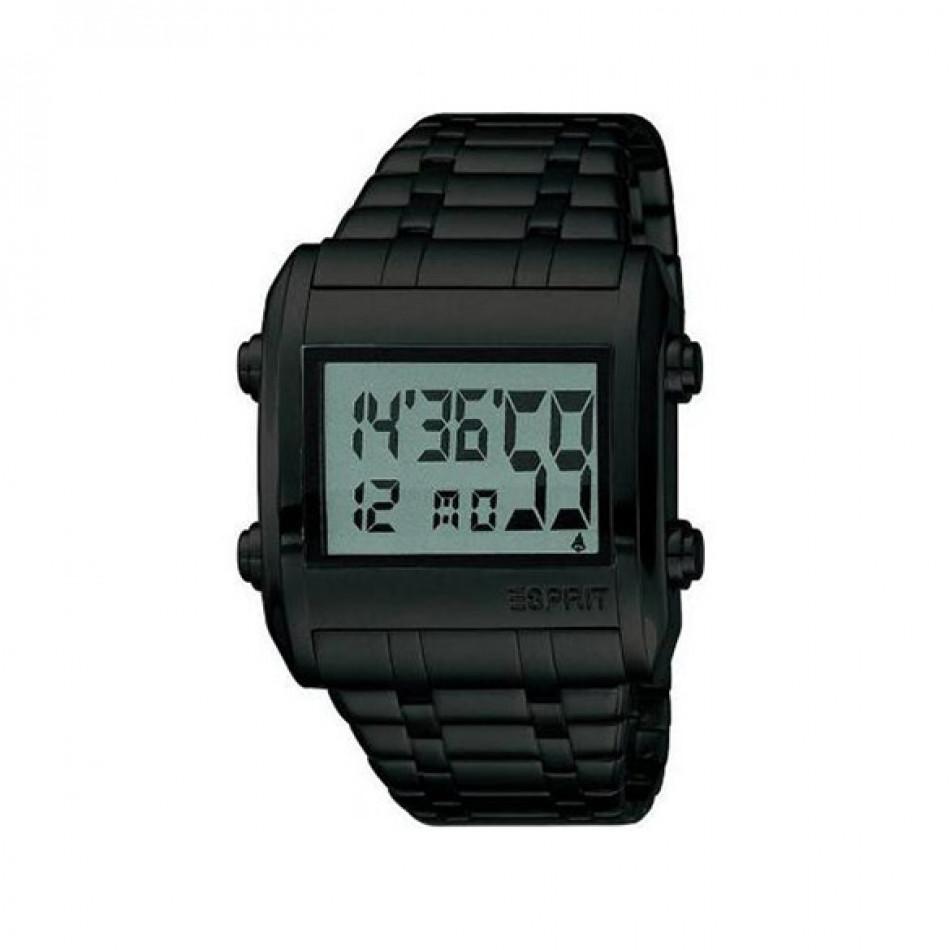 Мъжки часовник Esprit черен с електронен дисплей ES102341004