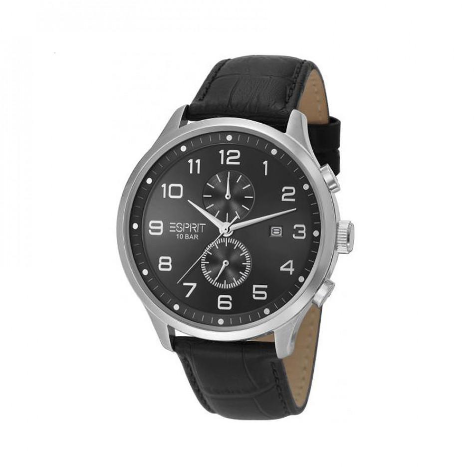 Мъжки часовник Esprit с черен циферблат и черна каишка ES105581001