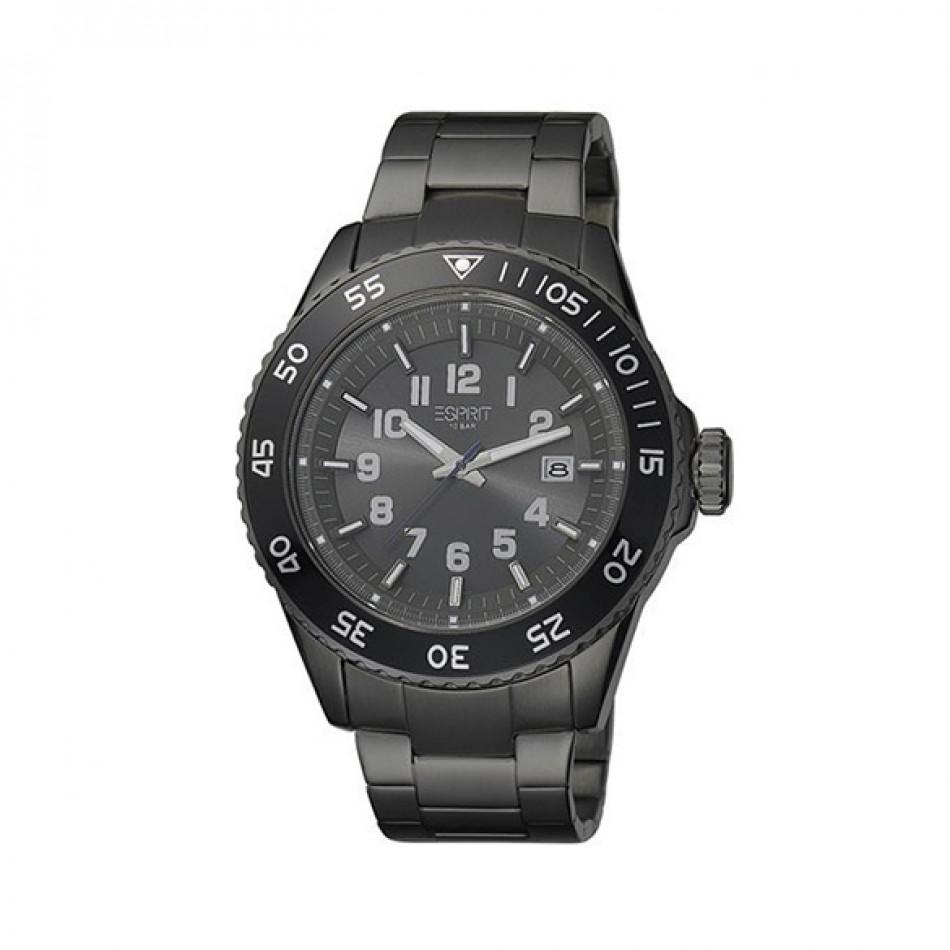 Мъжки часовник Esprit черен браслет es103631007