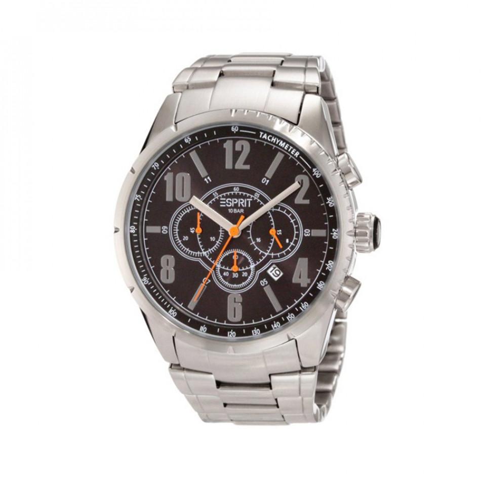 Мъжки часовник Esprit сребрист браслето с тахиметър ES104221005