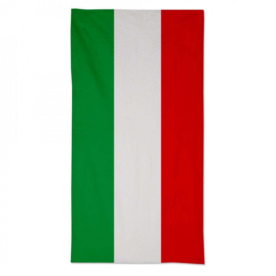 Плажна кърпа с Италианското знаме fm090714-4