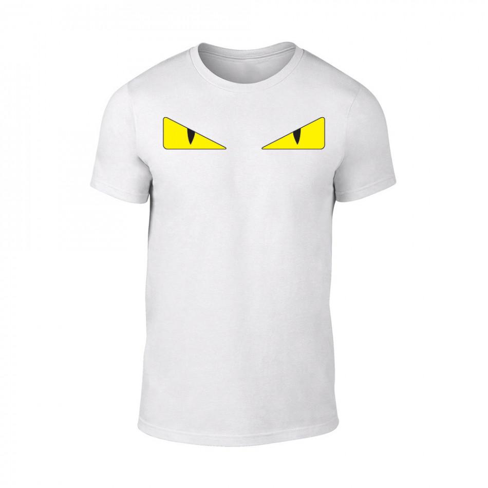 Мъжка бяла тениска Bird Eyes TMN-M-077
