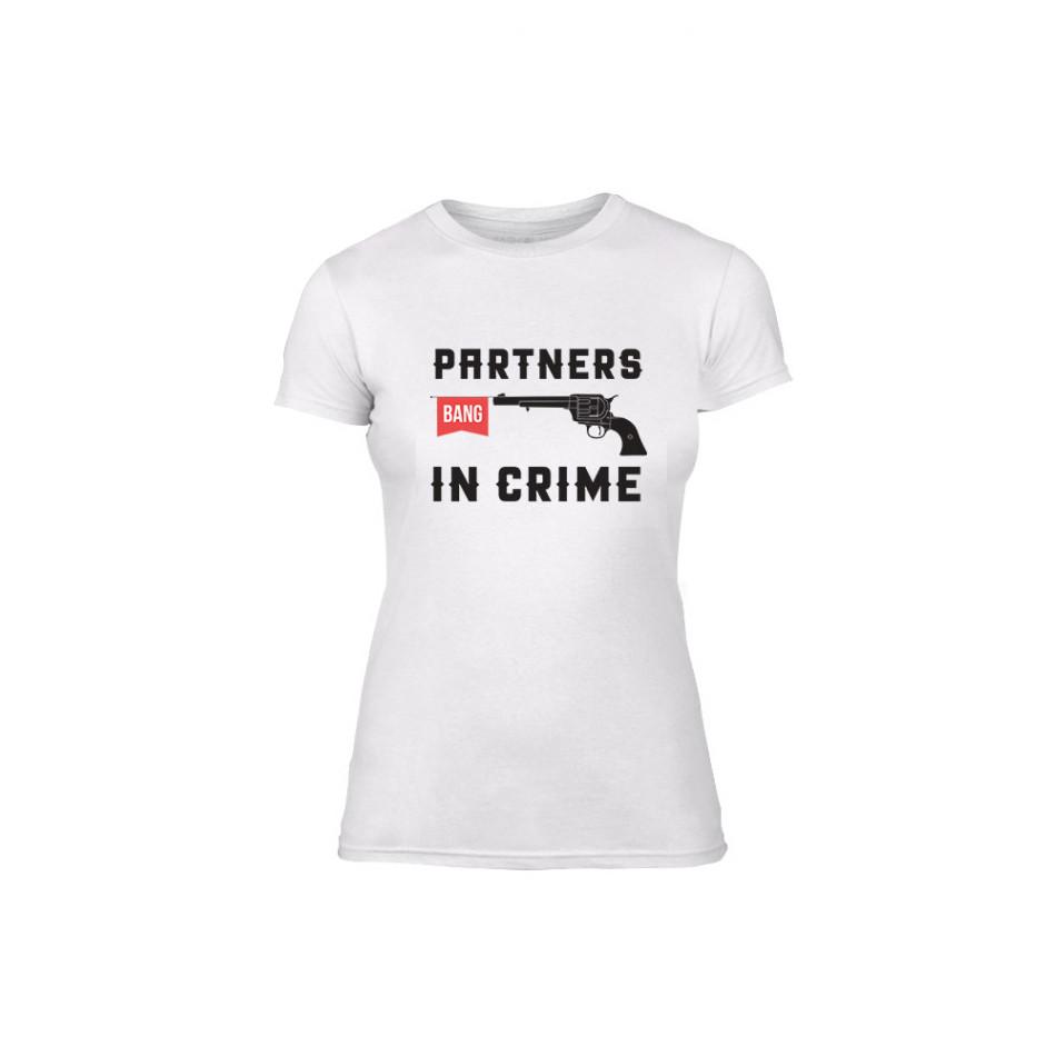 Дамска тениска Partners in Crime, размер M TMNLPF080M