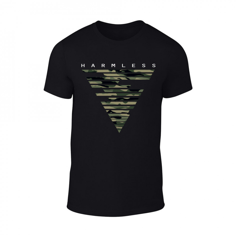 Мъжка черна тениска Harmless TMN-M-088