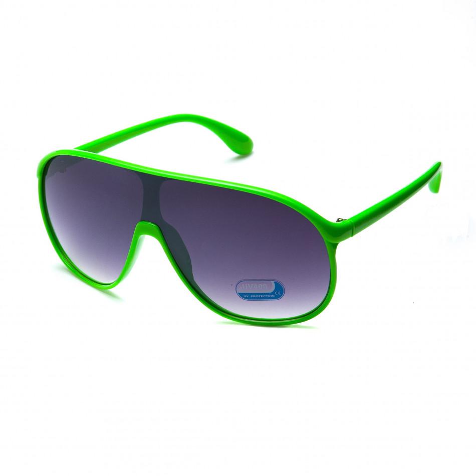 Мъжки зелени слънчеви очила маска it151015-12
