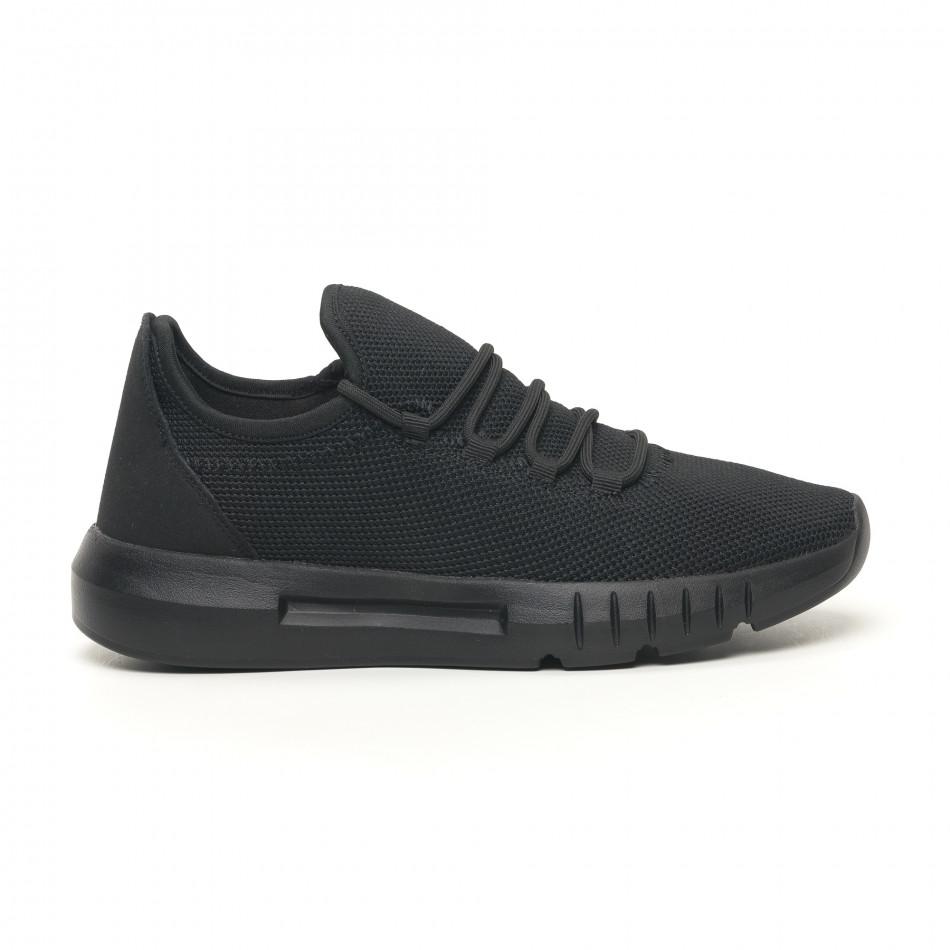 Леки мъжки маратонки All black it041119-4