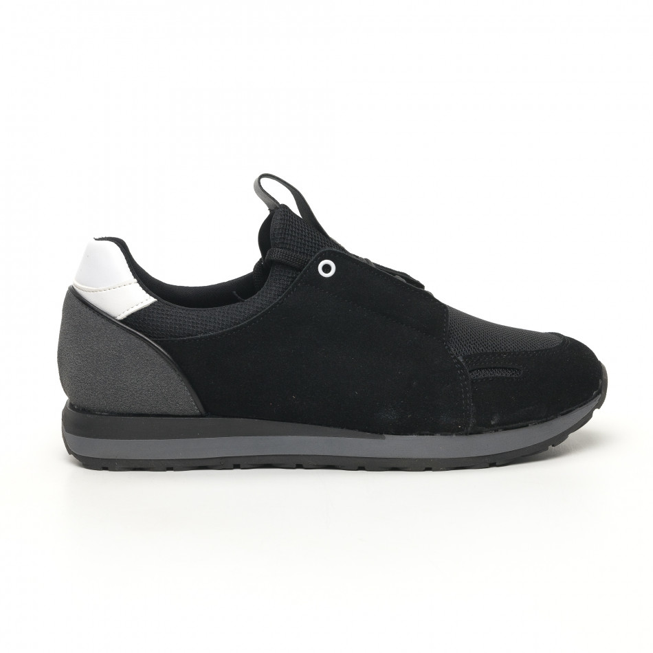 Мъжки маратонки черно и сиво tr180320-31