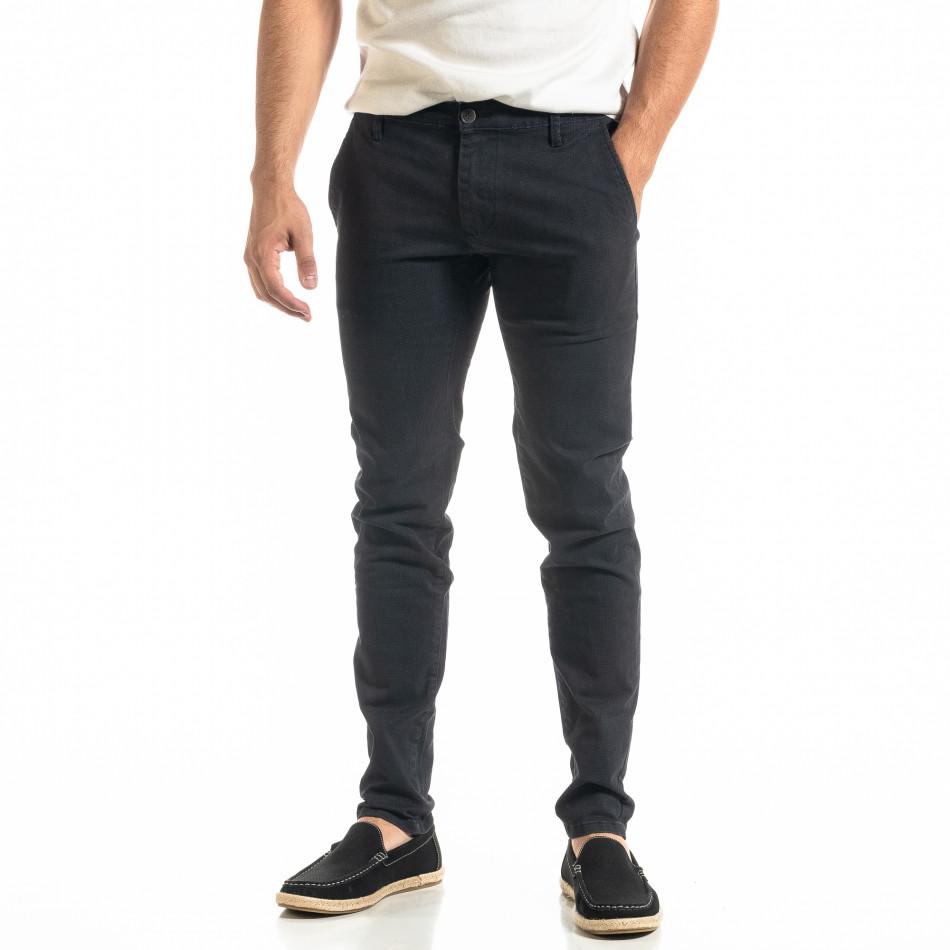 Slim fit Chino мъжки панталон тъмносин it020920-19