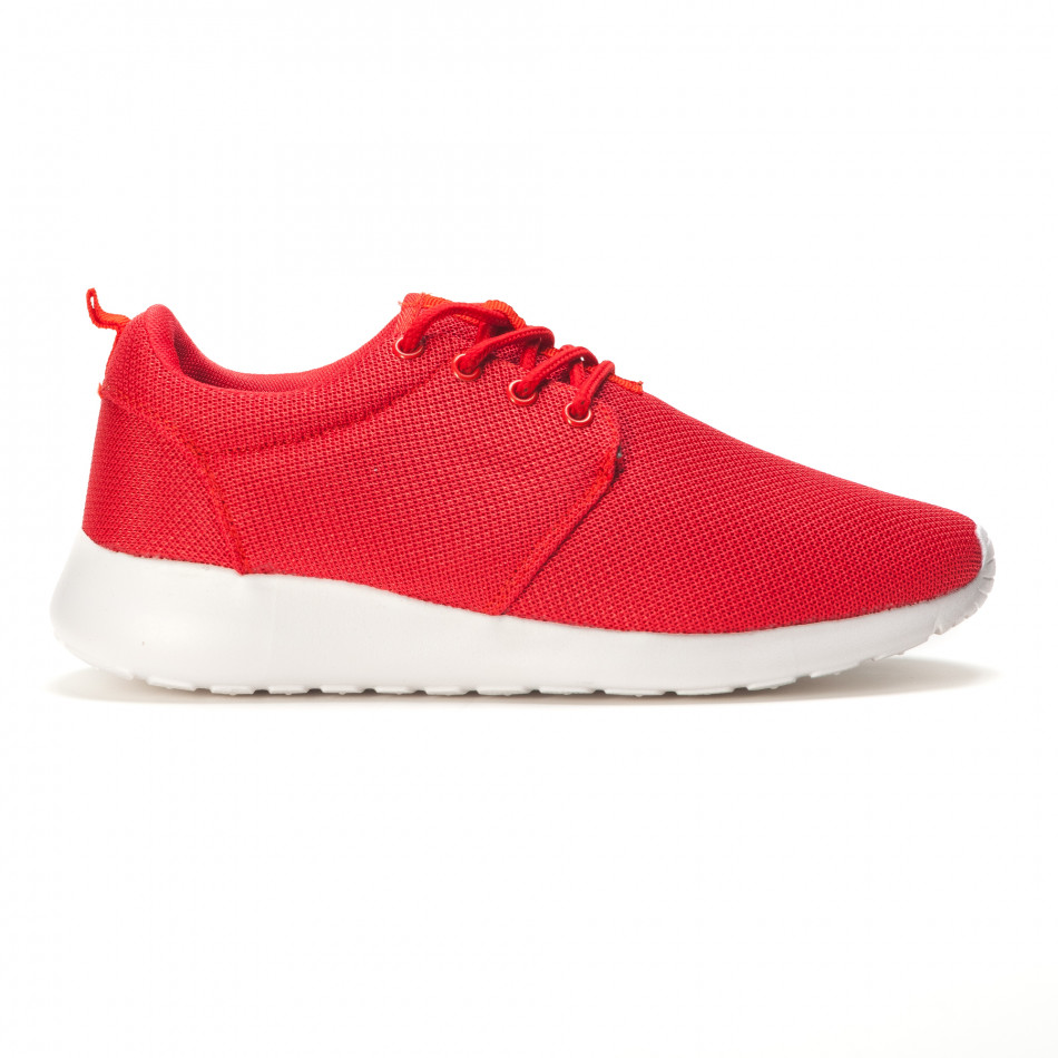 Мъжки червени летни маратонки it090616-24