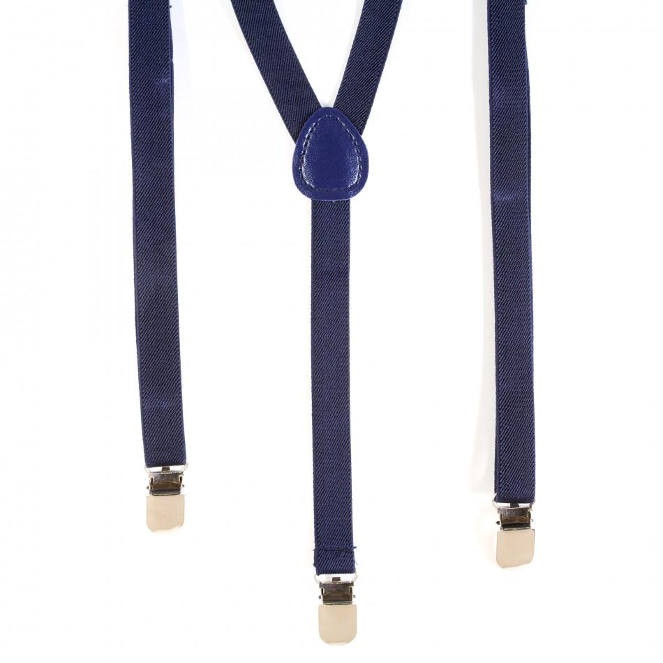 Мъжки сини тиранти it120214-67