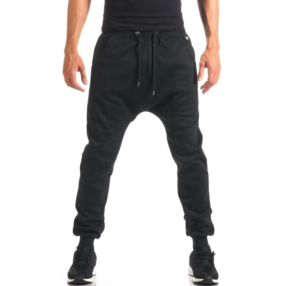 Мъжки черни потури изчистен модел it160816-20