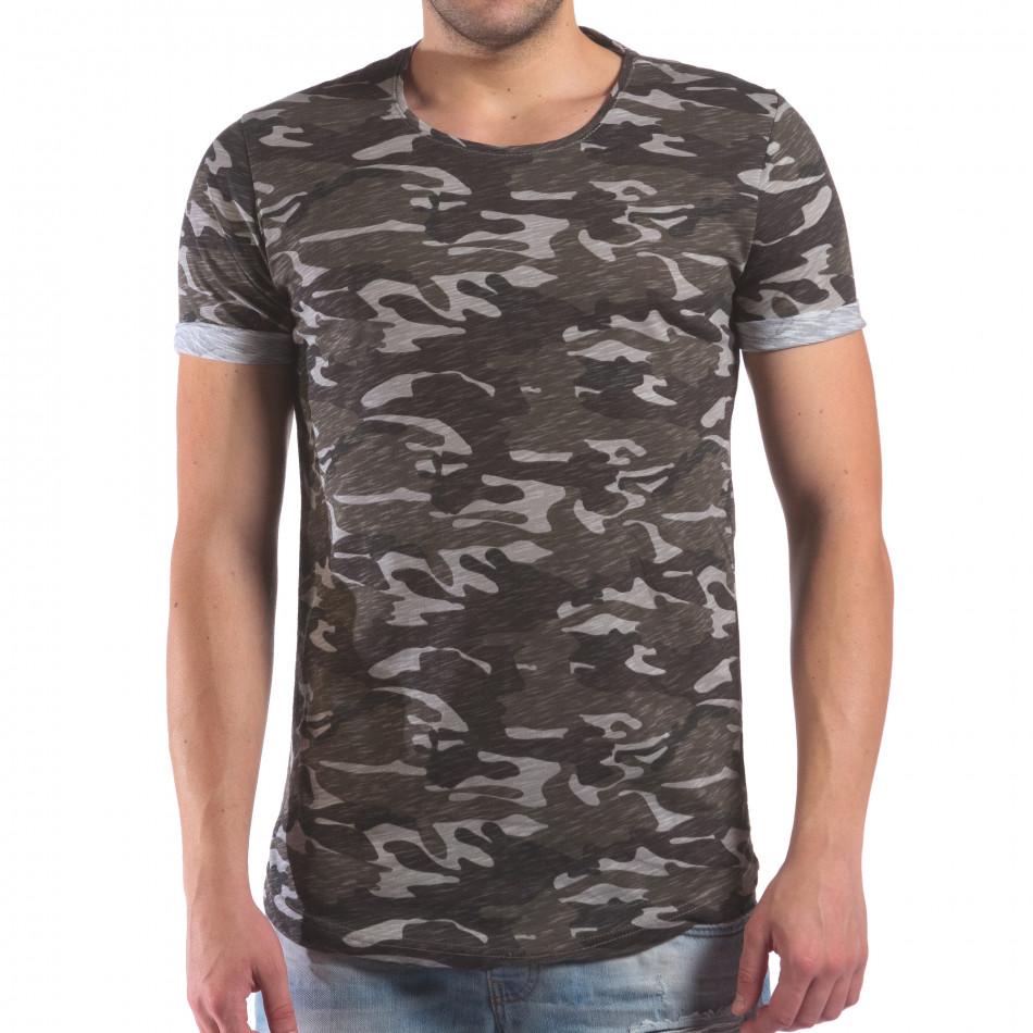 Мъжка камуфлажна тениска il210616-5