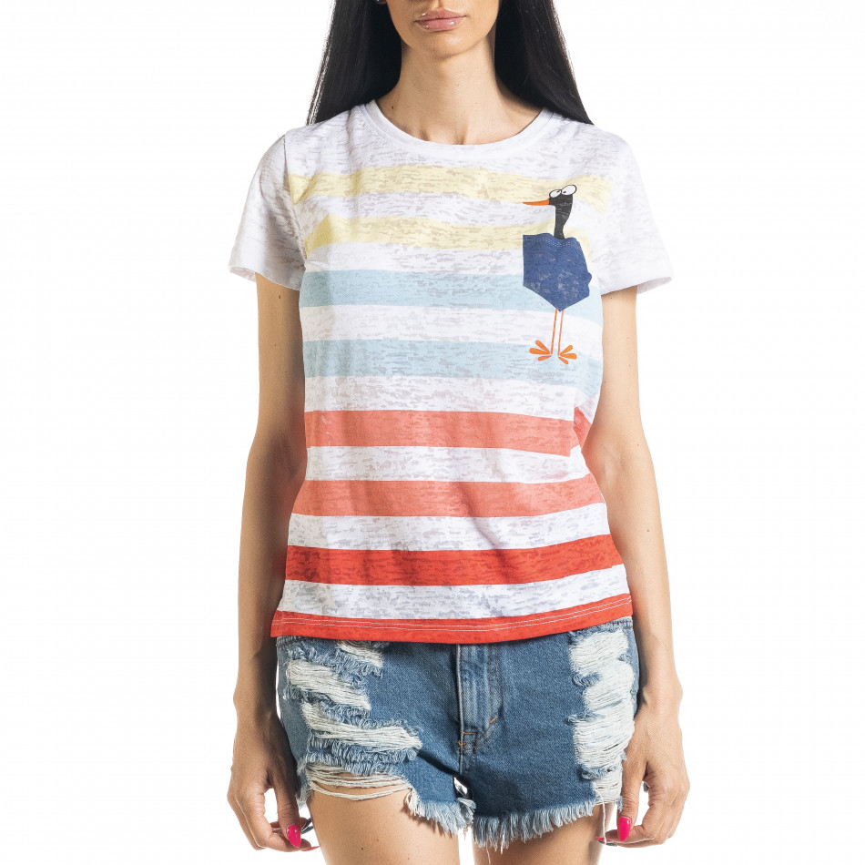Раирана дамска тениска il080620-10