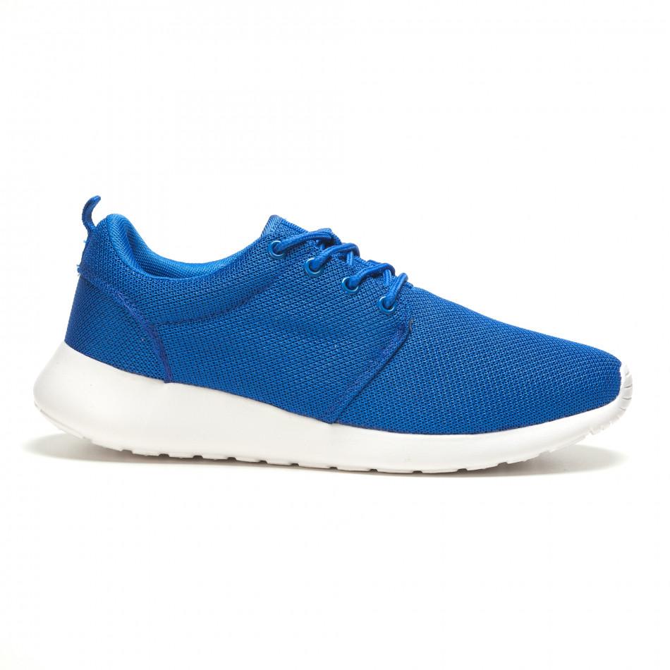 Мъжки сини маратонки за лятото it210416-2