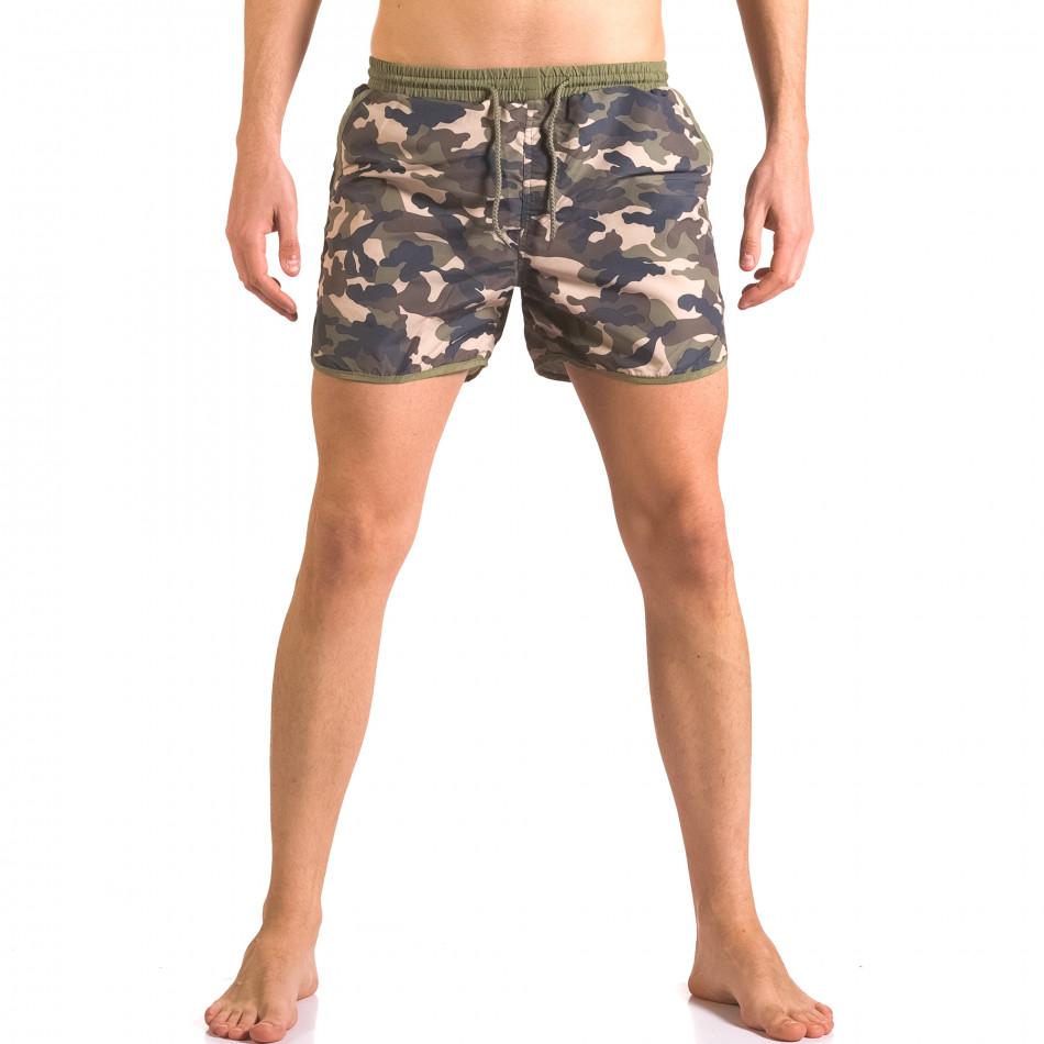 Мъжки бански тип шорти камуфлажни ca050416-2
