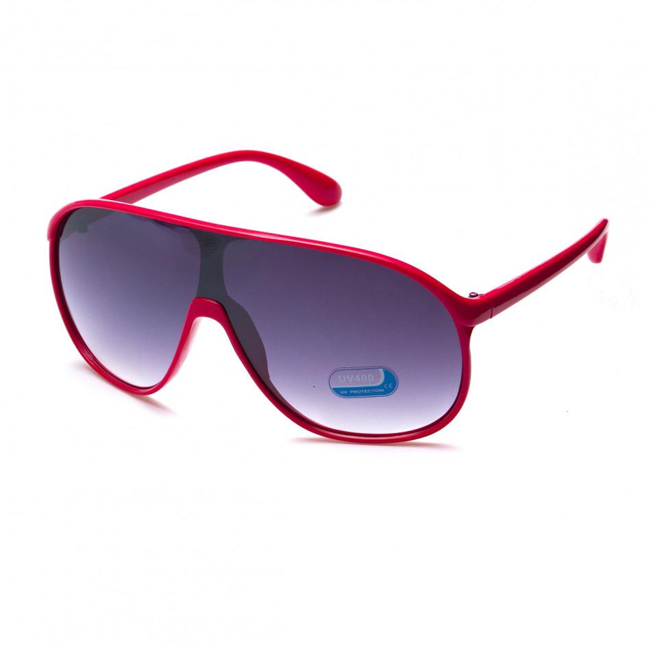 Мъжки розови слънчеви очила маска it151015-15