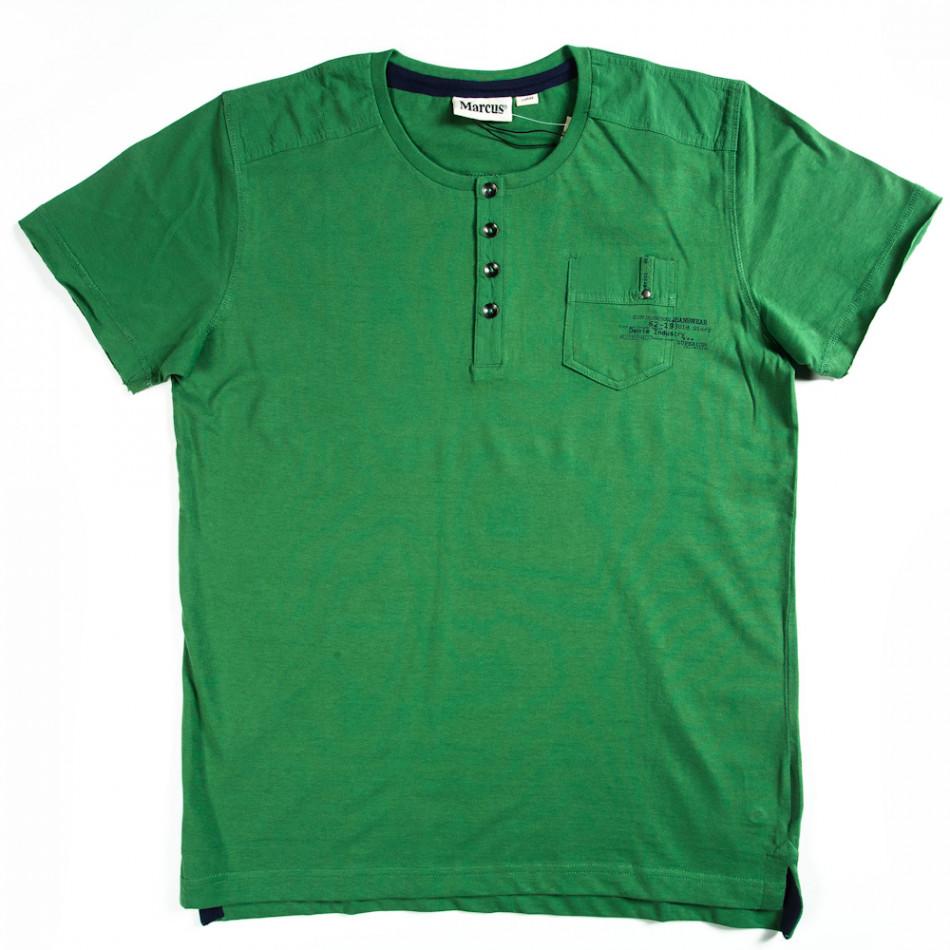 Мъжка тениска Marcus  с изчистен дизайн 070213-16