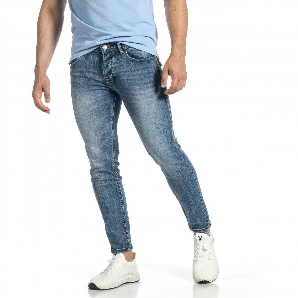 Мъжки сини дънки Vintage Capri fit it150521-38