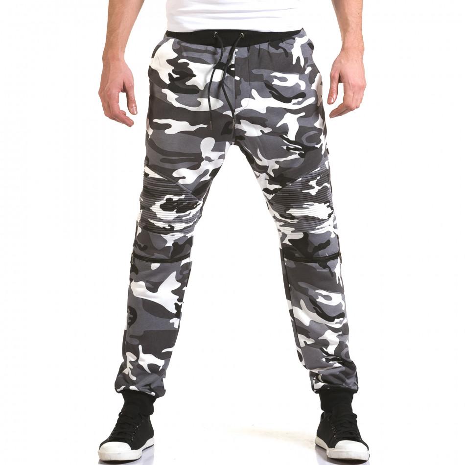 Мъжки сиви камуфлажни потури it090216-60