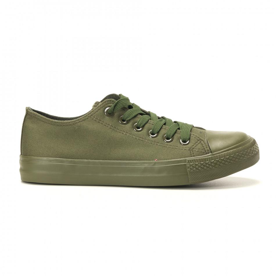 Мъжки кецове военно зелени it260117-33
