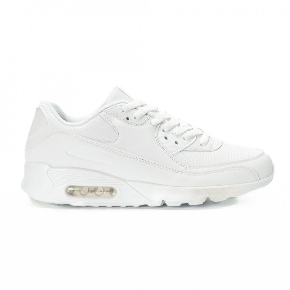 Air мъжки бели маратонки it221018-28