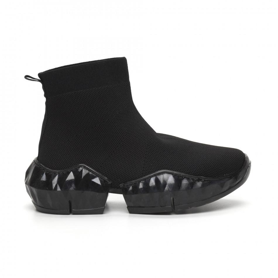 Гъвкави дамски маратонки тип чорап it260919-61
