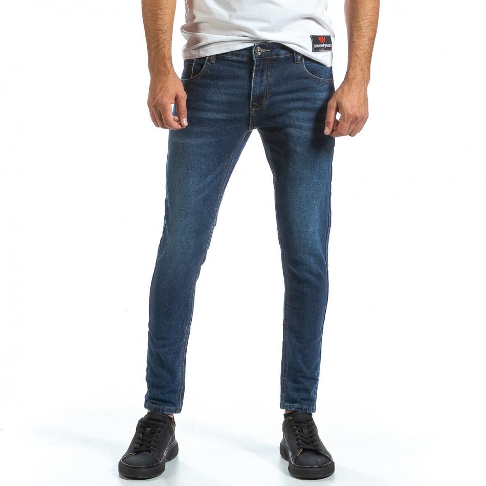 Basic Slim мъжки сини дънки it070921-5