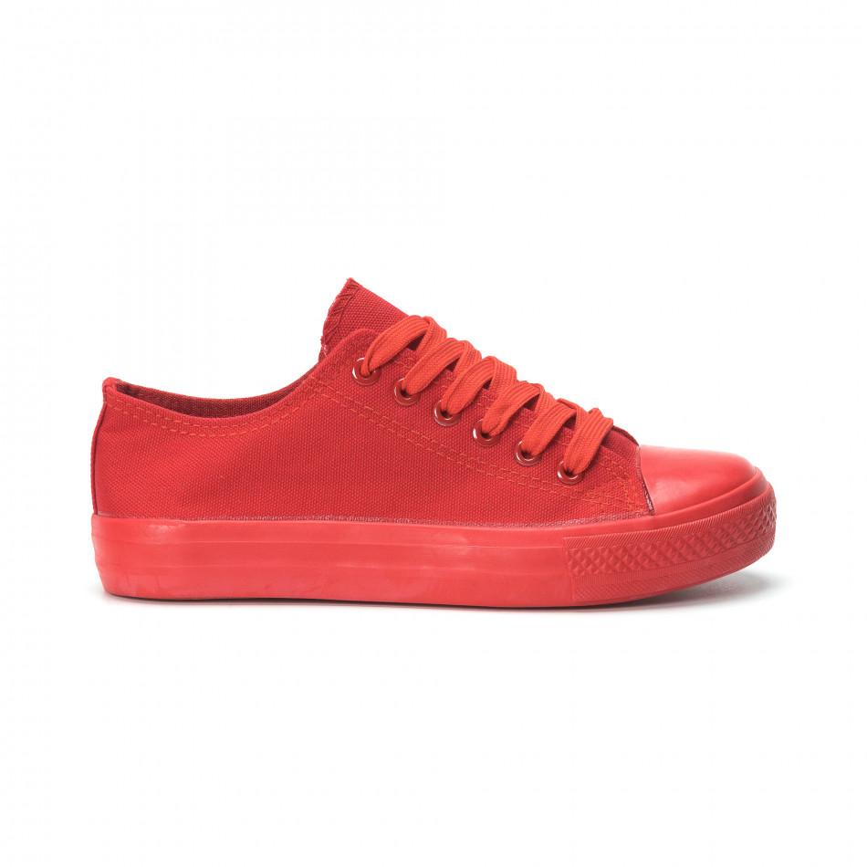 Червени дамски гуменки it250119-74