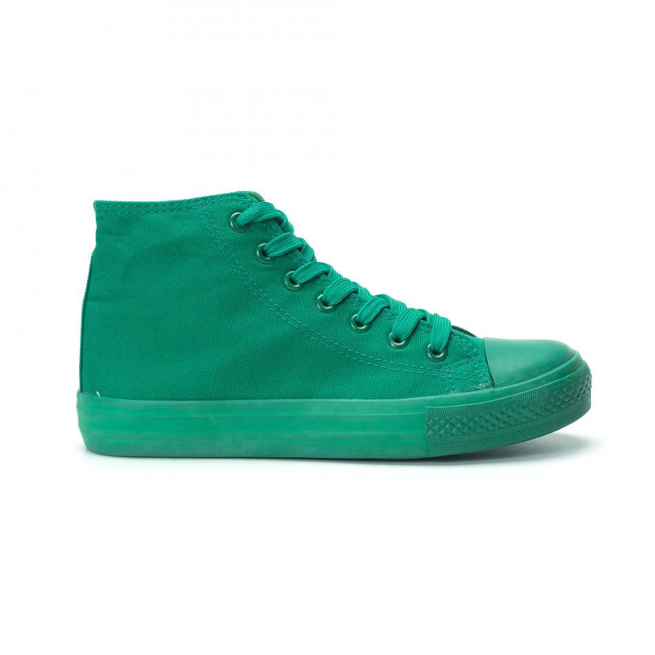 Дамски кецове в зелено it250119-77