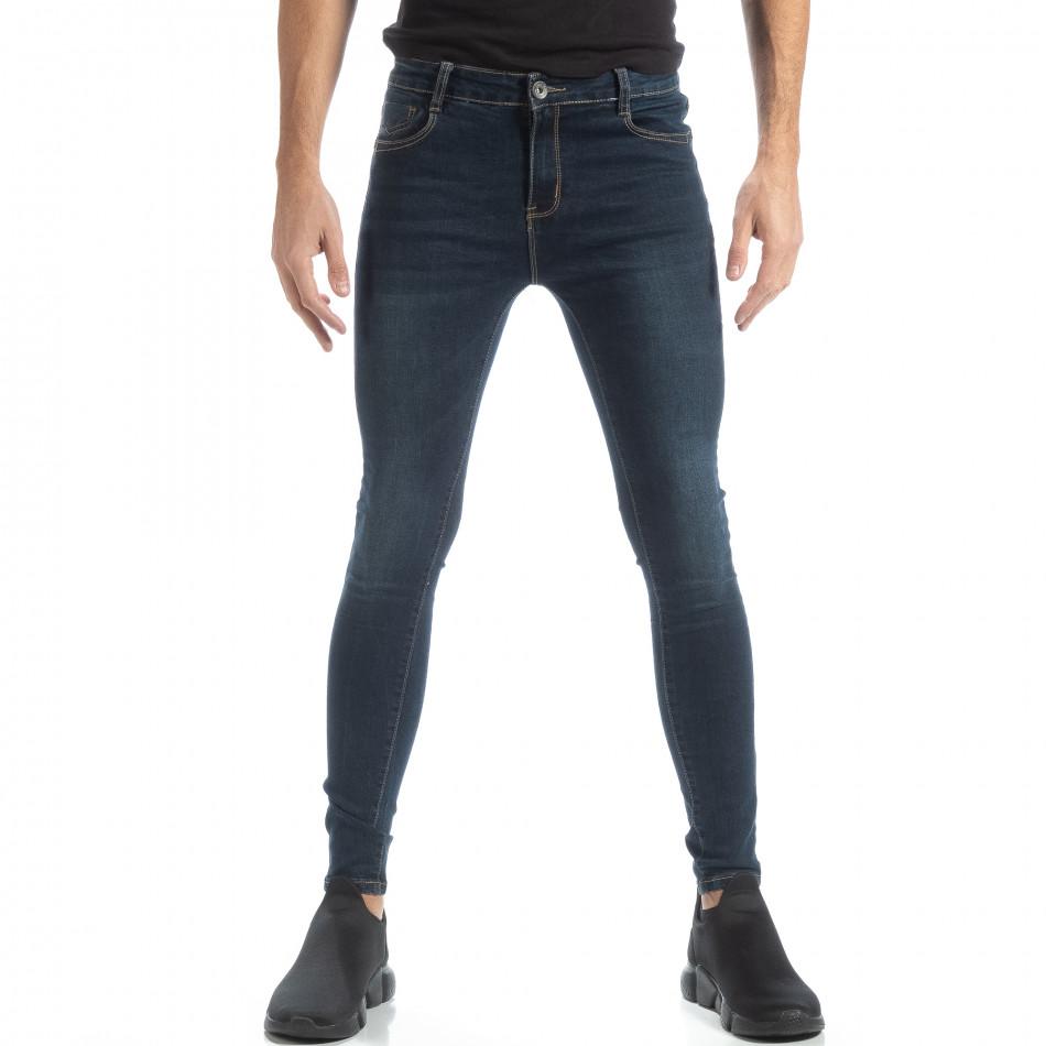 Мъжки Skinny Jeans от фин деним it051218-8