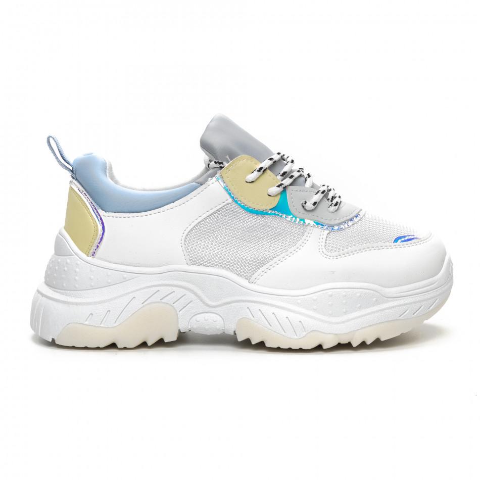 Дамски Chunky маратонки в нежни цветове it240419-46