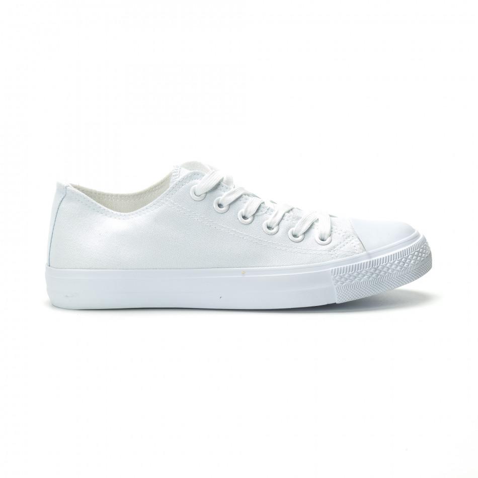 Мъжки бели гуменки базов модел it250119-11