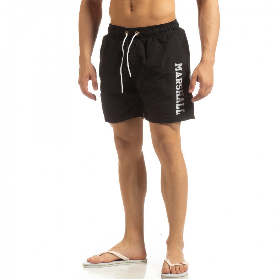 Мъжки бански Marshall в черно it090519-63