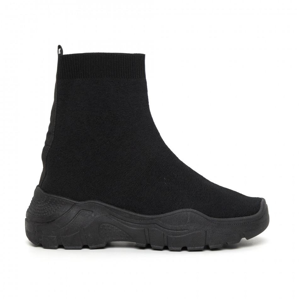 Basic Slip-on дамски маратонки черна подметка it130819-45