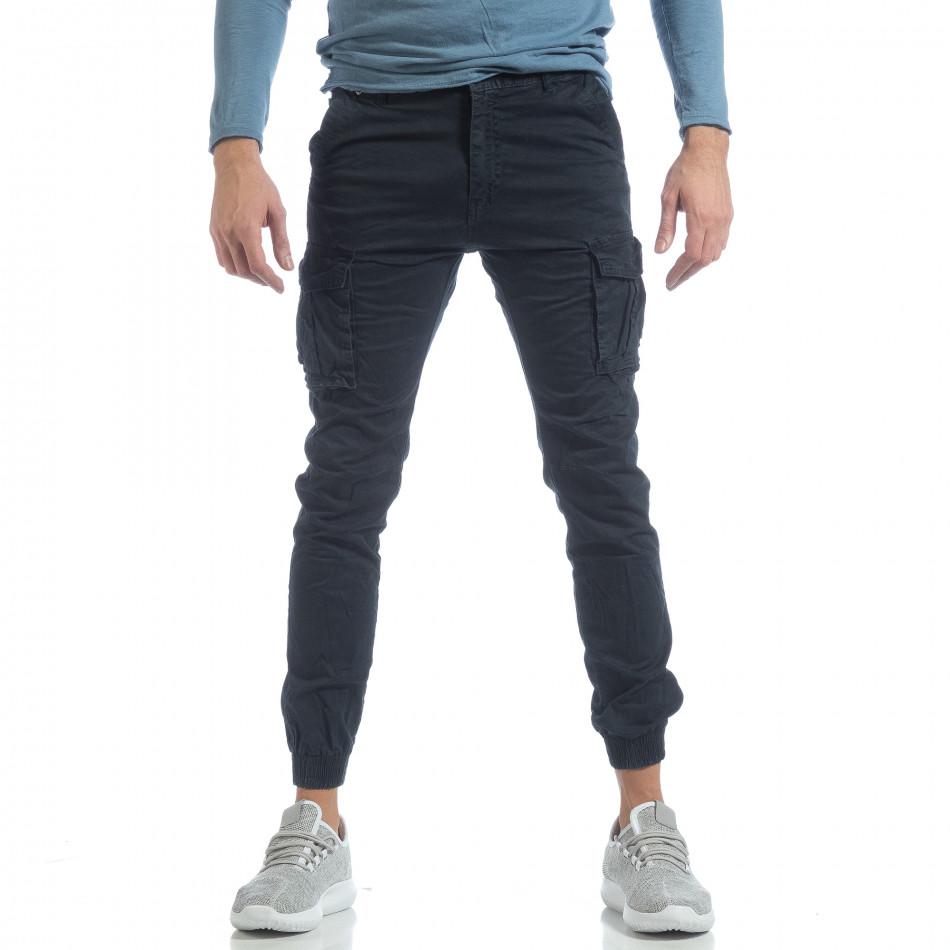 Мъжки Jogger карго панталон в синьо it040219-38