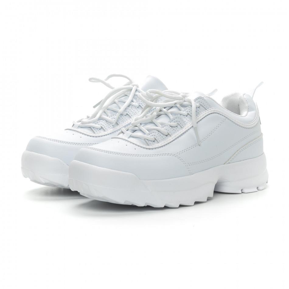 Бели мъжки Chunky маратонки. Размер 43/44 it150319-7-1