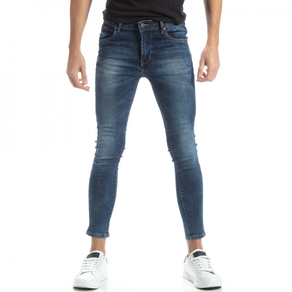 Мъжки дънки Skinny в синьо it051218-1