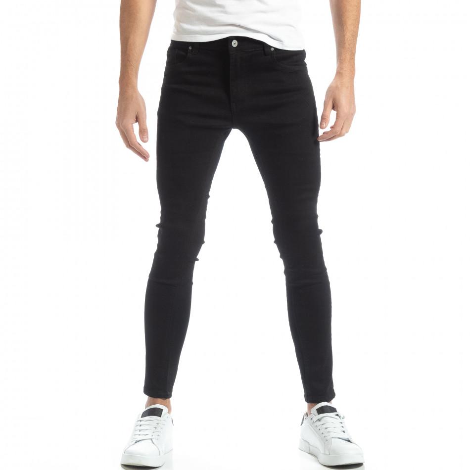 Basic мъжки черни дънки Skinny  it051218-4