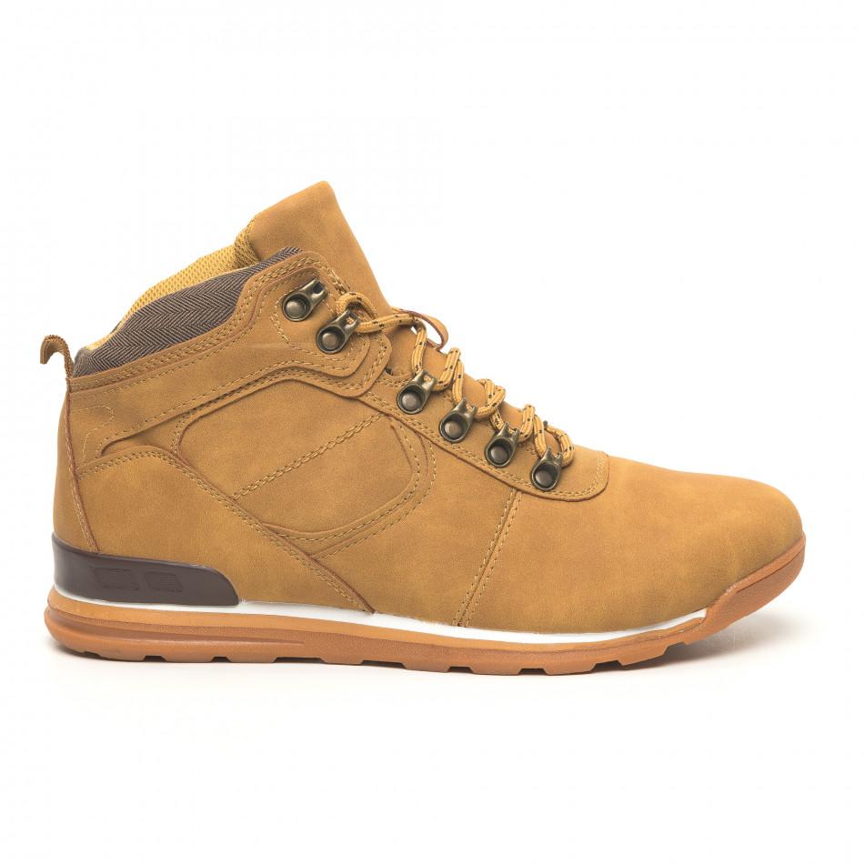Мъжки обувки камел тип Hiker it251019-25