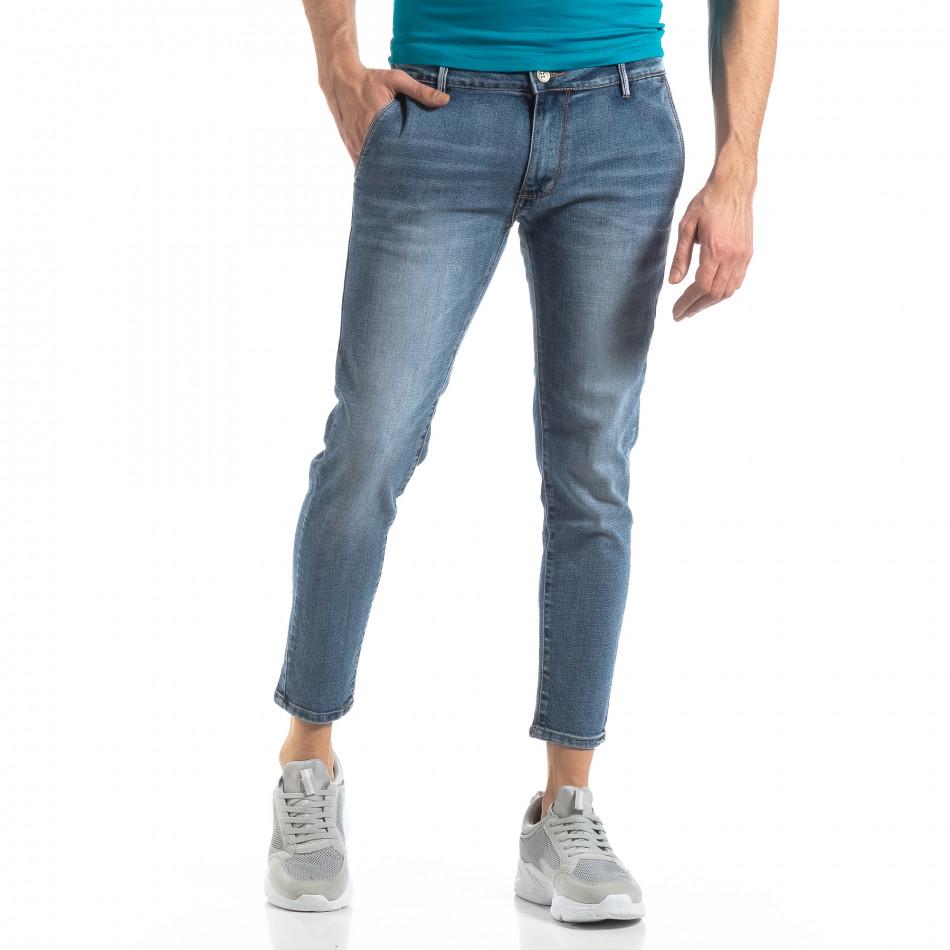 Сини мъжки дънки Carrot it210319-5